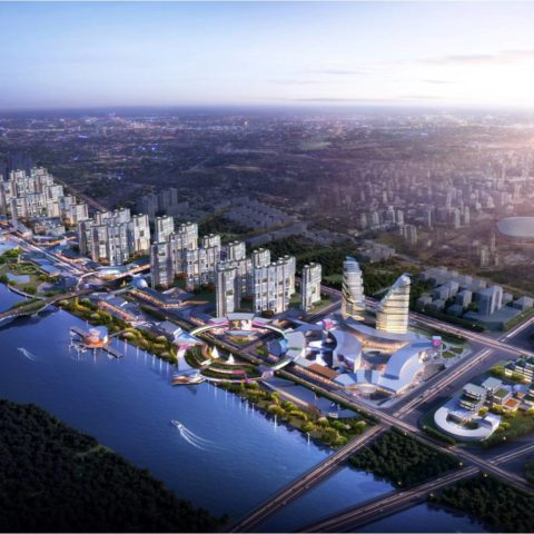 Fuyang River Front Mixed Development Master Plan