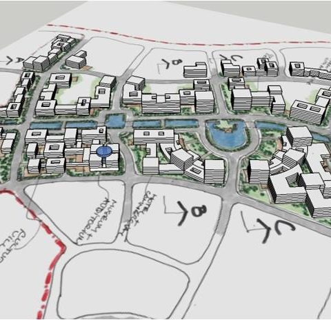Kaiping New Town Master Plan Concept