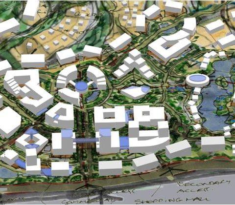 He Kou New Town Master Plan